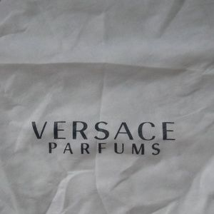 Versace White Dust Bag! Great Condition!